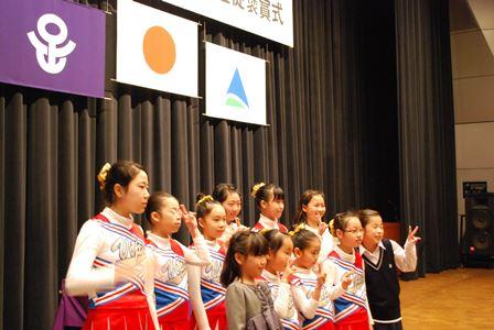 足立区教育委員会児童・生徒褒賞式(3)