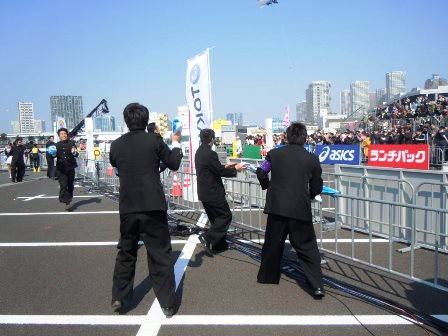 東京マラソン2016ランナー応援イベントマラソン祭り1