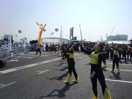 東京マラソン2016ランナー応援イベントマラソン祭り4